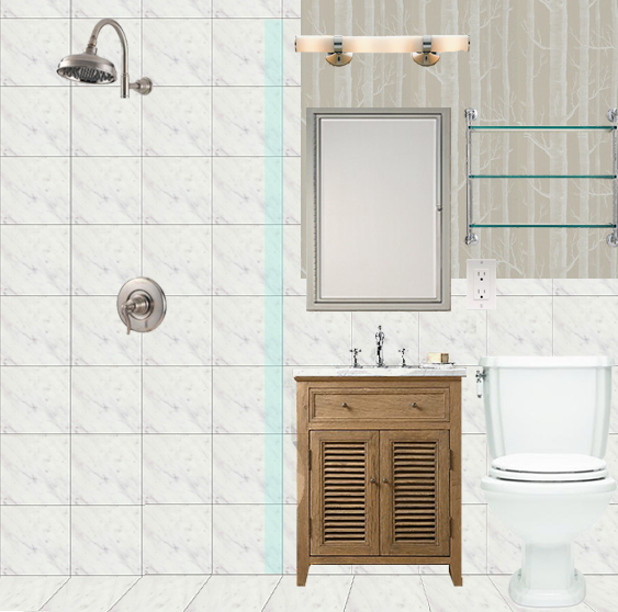Inspiration small bathrooms giftable designs for Inspirational small bathrooms