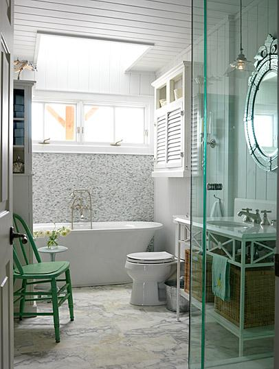 Inspiration For Small Apartment Balconies In The City: Inspiration: Small Bathrooms